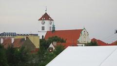 Pohled na Bílou věž (Michael Kůr) Tags: strážnice jihomoravskýkraj českárepublika southmoravia southmoravianregion czechrepublic