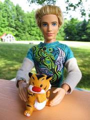 🐾Baby Rajah🐾🐅 (flores272) Tags: lifeinthedreamhousebarbie lifeinthedreamhouseken barbie barbiedoll kendoll ken outdoors doll dolls toy toys rajah aladdin disney disneypalacepets royalfriendscollection
