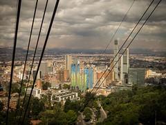 El teloférico [Explore September 14, 2017 #412] (Mariasme) Tags: cablecar bogotá colombia lookingdown teleférico songs downtown