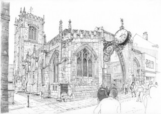 Church of St Martin, Coney Street, York