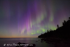 Lady Aurora (Photo-Bytes) Tags: aurora canada lakewinnipeg manitoba