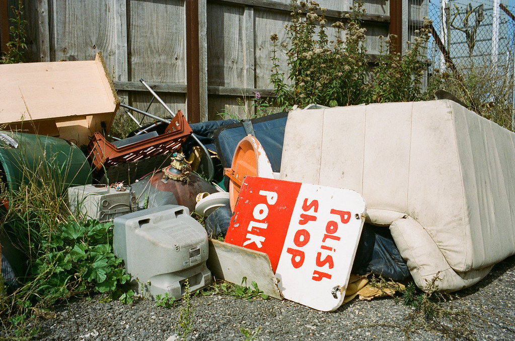 "8f37357dc8199 BrexitLand (Barnaby Nutt) Tags: tee film kodakportra400 leicam6 roadtrip  summicronm35 brexitland dover polski. ""Little Kasia"" Polish Shop  ..."