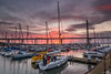 Port Edgar sun down (Martin John Mclaughlin) Tags: portedgar southqueensferry queensferrycrossing queensferry scotland yachts sunset sun boats forth forthbridges seascape