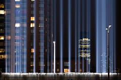 Light Source (SCH NYC) Tags: canon groundzero lserieslens longexposure lowermanhattan manhattan memorial nyc newyorkcity nightphotography nightshot schnyc stevehess tributeinlights worldtradecenter wtc wtc911memorial