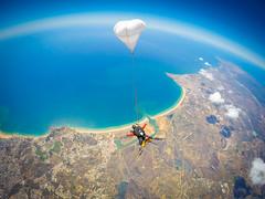 Skydive Seven (niceholidayphotos) Tags: algarve saltoparaquedas skydiveseven skydivingportugal tandemjump