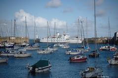 Penzance Harbour (amancalledalex) Tags: westcornwall cornwall penzance harbour boats yachts scillonianiii