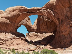 Double Arch (Rev.Gregory) Tags: double arch arches national park utah ut rock formation erosion