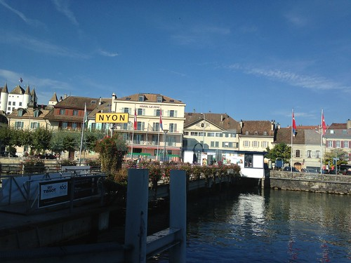 Nyon to Thonon les Bains between   Switzerland/France