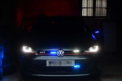 Unmarked Traffic Car (S11 AUN) Tags: northumbria police volkswagen vw golf gti unmarked anpr traffic car roads policing unit rpu motor patrols 999 emergency vehicle