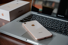 Apple iPhone 8 (http://yuchulien.pixnet.net/) Tags: apple iphone iphone8 gold nikon df 2485 mbp macbook