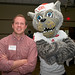 Ryan Phillips ('12) with Mr. Wuf