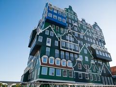Inntel Hotel Zaandam (✦ Erdinc Ulas Photography ✦) Tags: zaandam netherlands nederland city architecture dutch building hotel zaans traditional