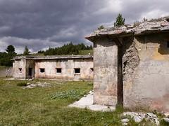 Grenzruine I (pizzocel) Tags: ruine militär alpen grenze