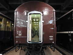 Orone10 1st-class sleeping car (1960) (Joel Abroad) Tags: scmaglev railway park traincars nagoya specialpurpose railroad wagonlit sleepingcar 1960