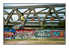 DLR (exreuterman) Tags: olympus mjuii colout outdated film 35mm devscan bricklane eastend dlr graffiti street art wallart