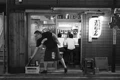 FAREWELL (ajpscs) Tags: ajpscs japan nippon 日本 japanese 東京 tokyo city people ニコン nikon d750 tokyostreetphotography streetphotography street seasonchange summer natsu なつ 夏 2017 shitamachi night nightshot tokyonight nightphotography citylights tokyoinsomnia nightview tokyoyakei 東京夜景 lights hikari 光 dayfadesandnightcomesalive alley othersideoftokyo strangers urbannight attheendoftheday urban walksoflife blackandwhitemonochromeurbanalleypeopleother side of tokyostrangerspeoplestrangerswalks life farewell