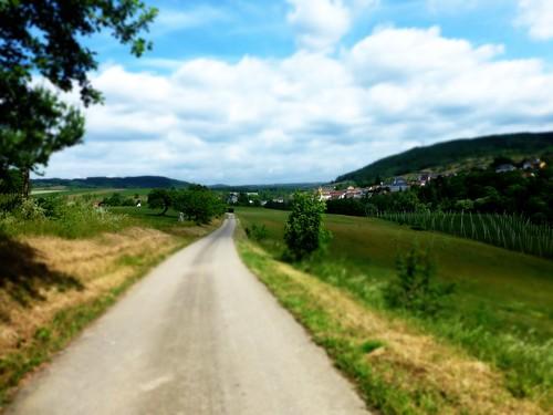 Anfahrt auf Holsthum