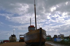 Fishing boats at Hastings (markwilkins64) Tags: hastings boats fishing industry uk tourism fish