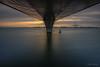 The bridge (AvideCai) Tags: avidecai cádiz paisaje cielo largaexposición agua mar puente filtro amanecer sigma1020