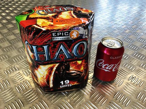 Chaos 19 Shot Barrage #EpicFireworks
