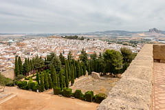 Antequera (Keith in Exeter) Tags: antequera spain castle alcazaba fortress garden mountain city tower trees outdoor touristattraction hanks appreciated