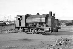 c.1968 - Preston, Lancashire. (53A Models) Tags: prestoncorporation bagnall 060st progress wb28911948 industrial steam preston lancashire train railway locomotive railroad