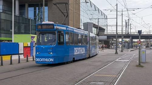 Den Haag Centraal HTM 3103 lijn 16 Statenkwartier