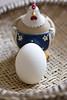 Criatura e Criação (angelasmorato) Tags: criatura criação ovo galinha ave alimento branco enfeite cerâmica cozinha