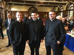 Erie Seminarians after Opening Mass at St. Mary's Seminary & University, Baltimore – September 2017.