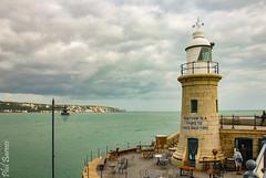 Folkestone Harbour Beacon (philbarnes4) Tags: folkestone harbour folkestoneharbour dslr water sea beacon light kent england philbarnes