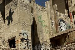 In The Pit (LookSharpImages) Tags: lime oregon limeoregon abandoned abandonedspaces