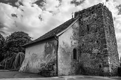 Chapelle St Bon (Didier Mouchet) Tags: thonon chapellestbon nikond5300 nikon noiretblanc nuages didiermouchet d5300 blackandwhite bw bâtiment monument monochrome architecture hautesavoie thononlesbains