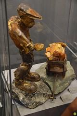 Amber collector (petrOlly) Tags: europe europa poland polska polen gdansk gdańsk amber ambermart art object objects museum handmade