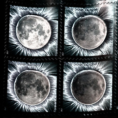 Touch activated solar eclipse forever stamps (iofdi) Tags: solariztion nikd coloreffex sliderssunday eclipse solar moon forever stamps 52in2017 frames thermochromic hss week33