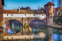 Nürnberg (Steffi-Helene) Tags: nürnberg franken bayern deutschland germany gewässer cities städte flüsse bridges brücken