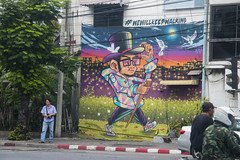 #wewillkeepwalking (SAM601601) Tags: sam601601 wewillkeepwalking bangkok thailand graffiti