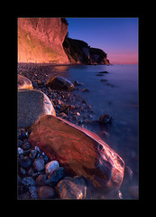 Kreideküste II (hmnx) Tags: jasmundnationalpark rocks cliffs sea sky chalk rügen balticsea beach