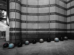 London's Marbles (Steve Taylor (Photography)) Tags: art architecture design sculpture building office selectivecolour stone uk gb england greatbritain unitedkingdom london round charingcross villiersstreet oneembankmentplace breeam