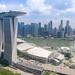 Aerial Marina Bay Singapore