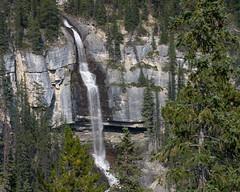 Bridal Veil Falls (D.Spence Photography) Tags: alberta canada kootenay lake mountains nationalpark nature park wilderness beautiful beauty picturesque scenic water forest jasper falls bridalveilfalls waterfall