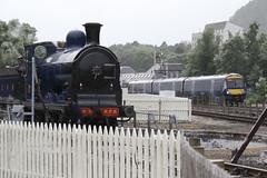 828 Strathspey Railway, Scotland (Paul Emma) Tags: uk scotland aveimore strathspeyrailway railway preservedrailway railroad 828 steamtrain train turntable 170428