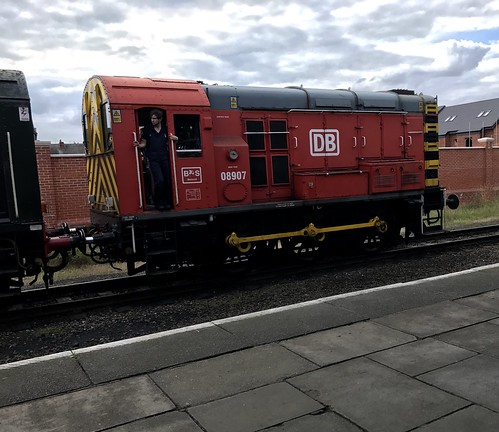 Class 08 shunter at Loughborough