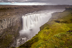Dettifoss (José Miguel Serna) Tags: iceland waterfall landscape exposure river canon nature paisaje clouds photography dettifoss fall josemiguelserna islandia cascada wather