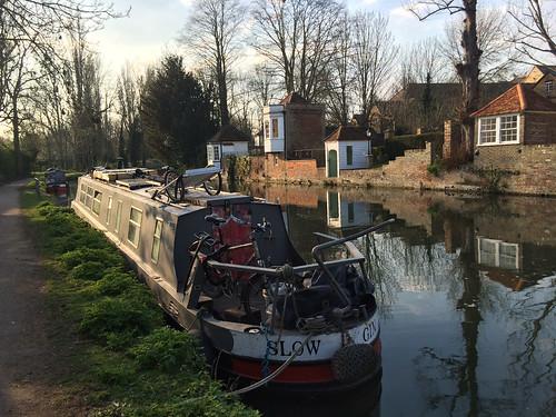 Riverside gazebos in Ware, Hertfordshire
