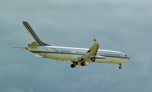 Saudi Oger / Boeing 737-8AN / HZ-HR5