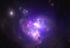 Colliding galaxies (terryballard) Tags: