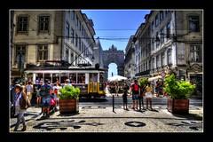 Rua Augusta - Lisboa (mgarciac1965) Tags: lisbon lisboa gente calle rua arco arcotriunfal ruaaugusta baixa turismo nikon nikond5200 tranvia
