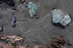 Geology lesson (schoeband) Tags: fraserriver riverbed rocks lillooet britishcolumbia canada
