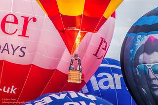 Bristol Balloon Fiesta Hot Air Burn