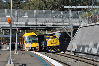 Blocked at Beecroft (don't laugh too loud :-)